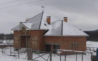Можно ли строить крышу зимой