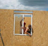 Стандартные размеры пластиковых окон в деревянном доме