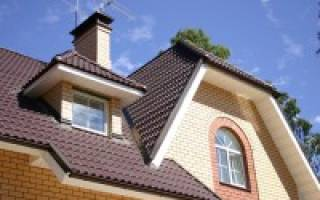 Схема крыши дома из металлочерепицы