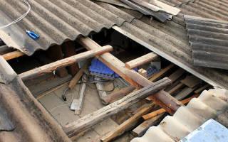 Ремонт крыши деревянного дома своими руками
