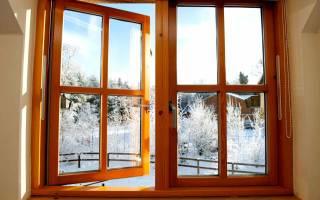 Деревянные окна под стеклопакеты своими руками