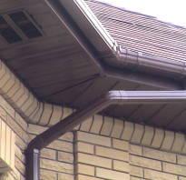 Как подшить свесы крыши софитом