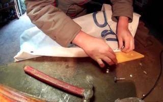 Инструмент для установки люверсов своими руками