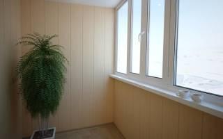 Как самому отделать балкон пластиковыми панелями