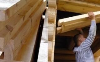 Как заделать окно в деревянном доме
