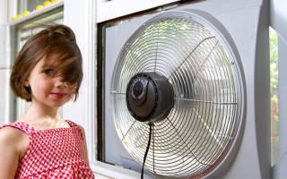 Реверсивные вентиляторы для окон