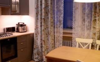 Как пошить шторы самостоятельно на кухню?
