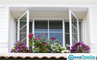 Верхнеподвесные окна с открыванием наружу