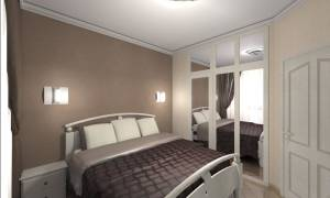 Как расставить мебель в маленькой спальне