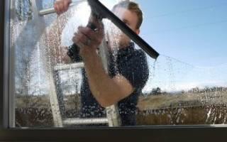Чем отмыть цемент с пластиковых окон