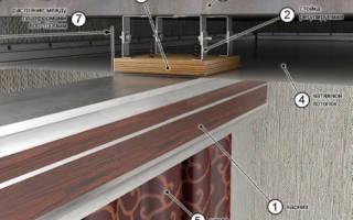 Как прикрутить потолочный карниз к натяжному потолку