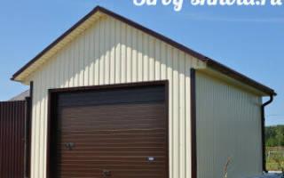 Как правильно перекрыть крышу гаража рубероидом