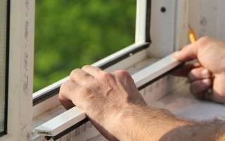 Как рассчитать размер пластикового окна по проему