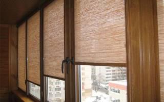 Как крепятся рулонные шторы на деревянные окна