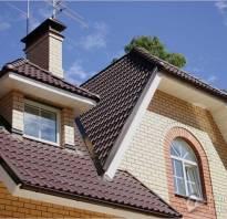 Как правильно делать крышу из металлочерепицы