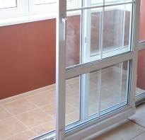 Раздвижные двери на балкон в квартире